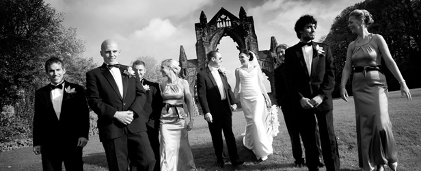 Clair and Nathan's wedding at Gisborough Hall in North Yorkshire