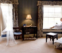 Swinton Park Castle Hotel in Yorksire